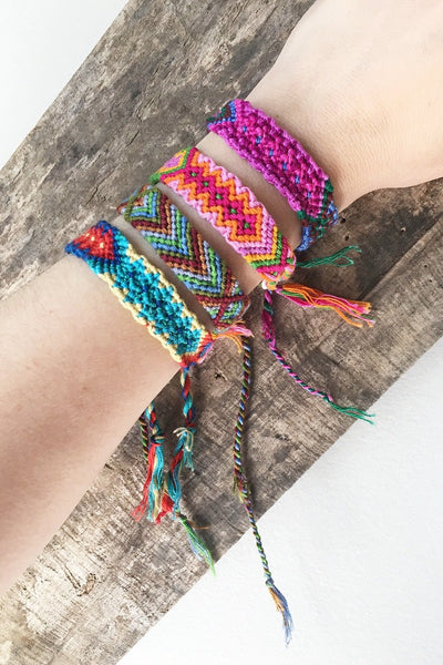 ShopMucho friendship bracelets handmade fair trade in Guatemala