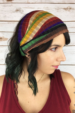 ShopMucho women's cotton headbands handmade in Guatemala