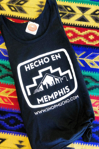ShopMucho Made in Memphis unisex tanktop