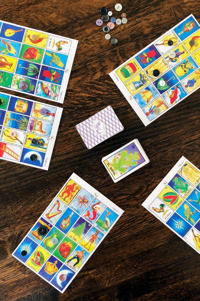 ShopMucho Loteria Mexican bingo playing cards