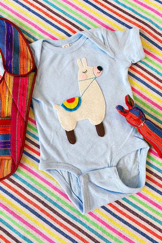 ShopMucho Lovely Llama Infant Onesie