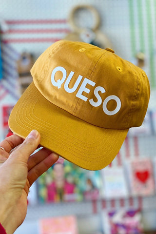 ShopMucho Queso Baseball Cap hat
