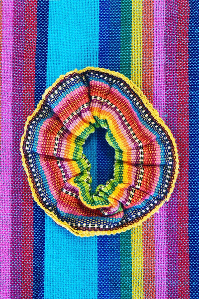 ShopMucho handmade Mexican scrunchies