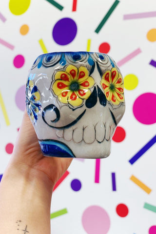 ShopMucho Sugar Skull Coffee Mug