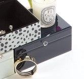 Jewelry Box   Black   in a pinch gifts.myshopify.com