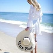 Beach Bum floppy hat