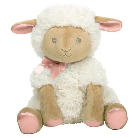 "12"" MUSICAL WIND-UP TOY - LAMB - HUSH LITTLE BABY - GIRL"