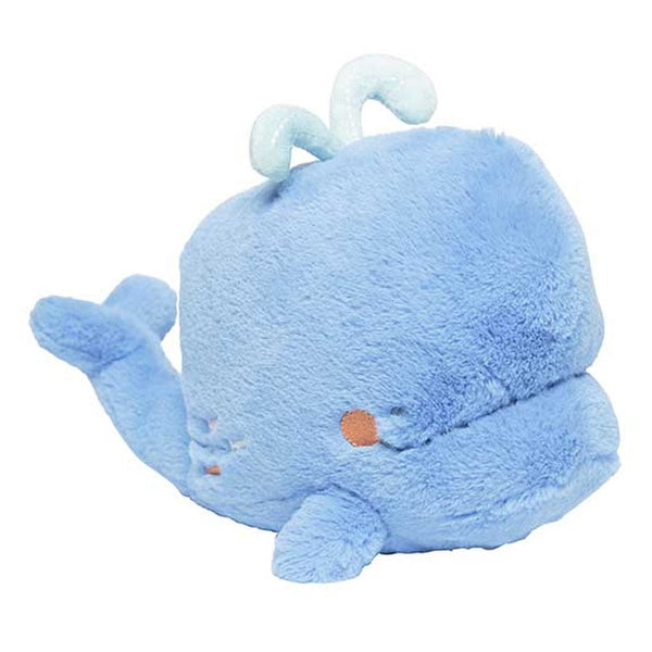 "8"" PLUSH MUSICAL WIND-UP TOY WHALE - CATCH THE WAVES"