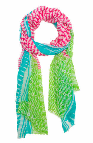 Gretchen Scott Printed Modal Scarf   Indian Summer   in a pinch gifts.myshopify.com