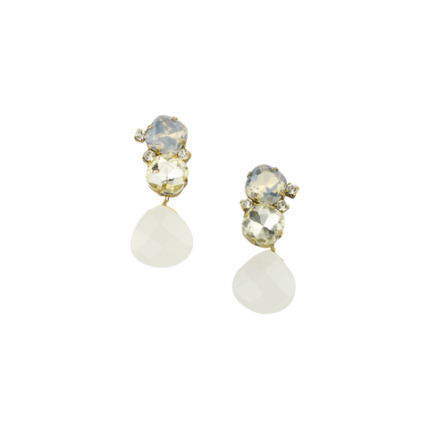 "1.5"" Crystal Luxe Drop Earring"