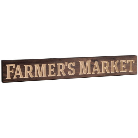 BLOCK SIGN - FARMER'S MARKET