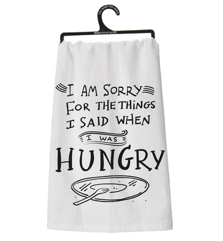 Dish Towel - Hungry