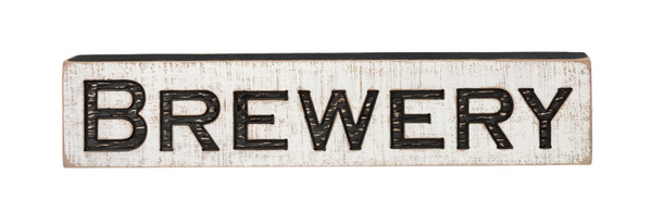 Carved Sign - Brewery