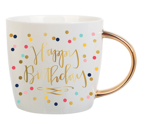 14oz Happy Birthday Mug