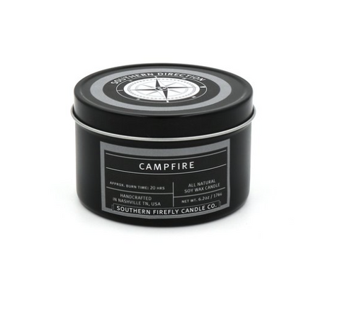 Southern Firefly - Campfire 8oz Travel Tin