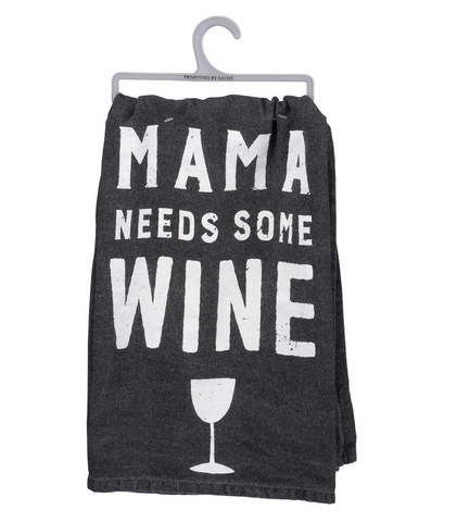 Dish Towel - Mama Wine