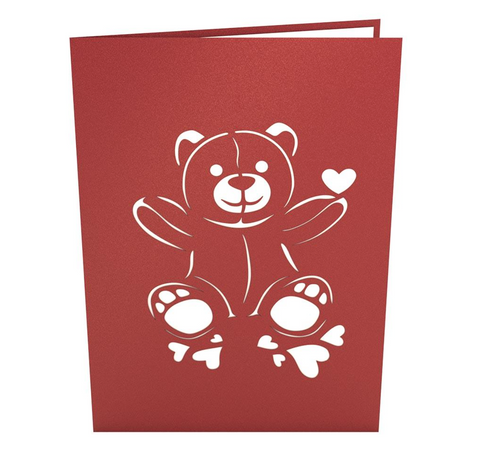 Love Bear 3D card