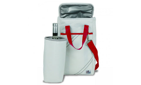 NEWPORT INSULATED WINE TOTE (2 BOTTLE, Red)   in a pinch gifts.myshopify.com