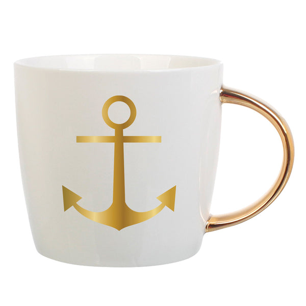 14oz Anchor Mug   in a pinch gifts.myshopify.com