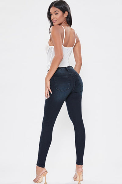 High Rise 5 Pkt Skinny
