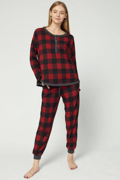 Christmas Plaid Joggers
