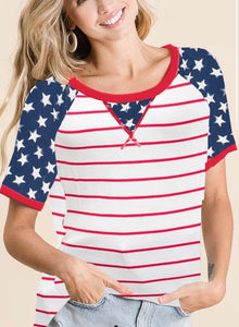 Raglan Stars & Stripes