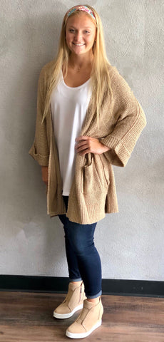 Cardigan Sweater w Pockets