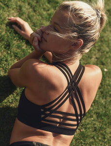 Interlock Criss Cross Back Strap