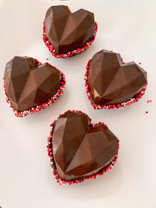 Valentine's Cocoa Bombs (Available for pickup February 2)