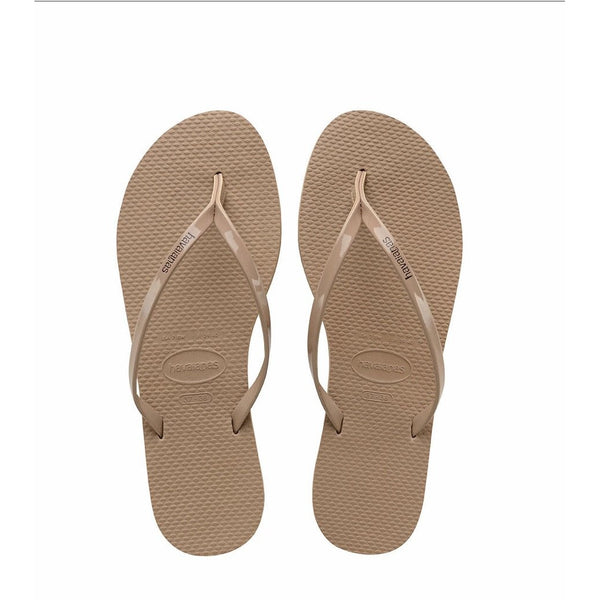 You Metallic Sandal Rose Gold