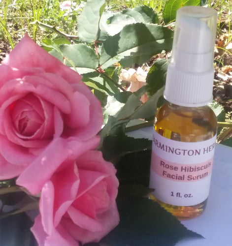 Rose Hibiscus Facial Serum