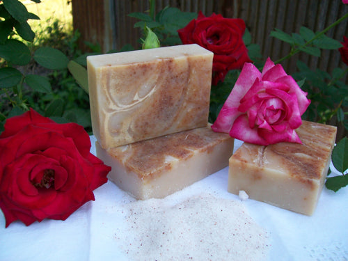 Celtic Rose Sandalwood Sea Salt Soap