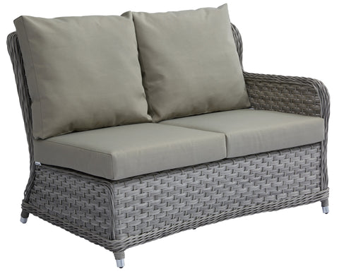 Jacob Double Sofa Left Arm w/ Sunbrella Cushion