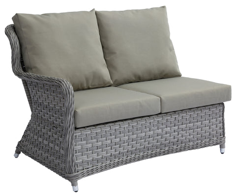 Jacob Double Sofa Right Arm w/ Sunbrella Cushion