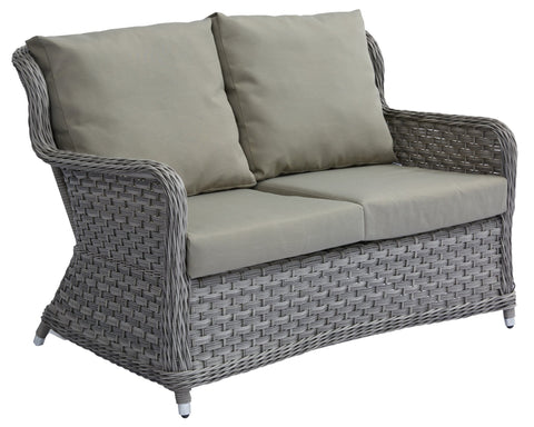 Jacob Double Sofa w/ Polyester Cushion