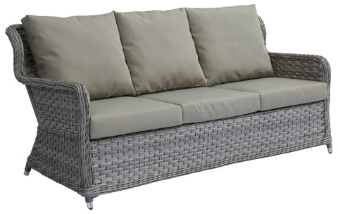 Jacob Triple Sofa w/ Polyester Cushion