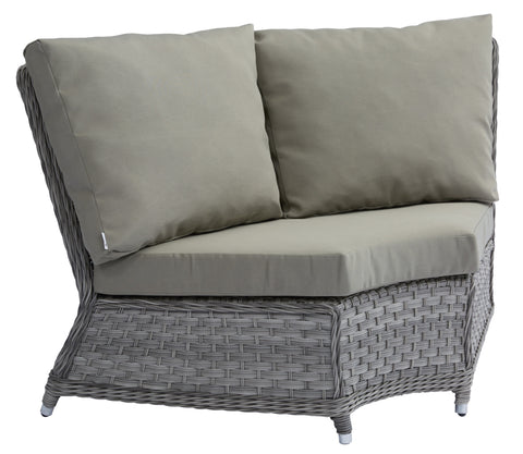 Jacob Corner Sofa w/ Polyester Cushion