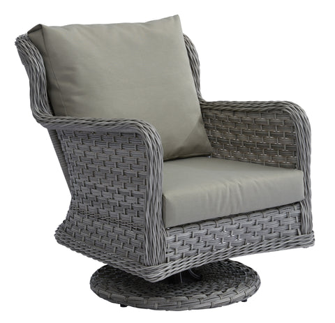 Jacob Swivel Rocker w/ Polyester Cushion