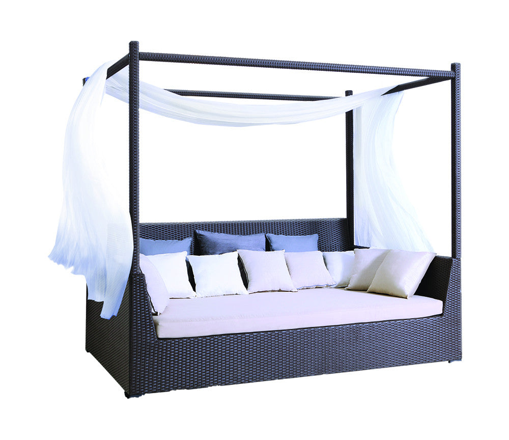 Kayana Canopy Daybed w/ Sunbrella Cushion  sc 1 st  Parkalia Furniture : canopy day bed - memphite.com