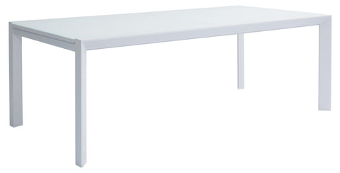 Luka Extension Glass Dining Table