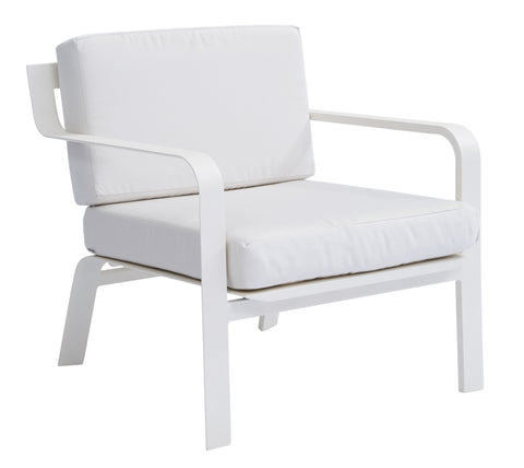 Luka Single Sofa w/ Polyester Cushion