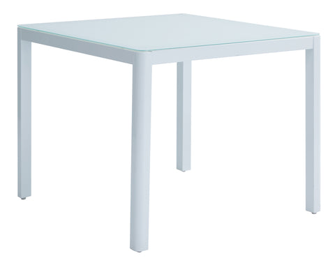 Remix Tempered Glass Square Table