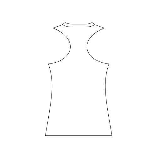 Ladies V-Neck Racerback