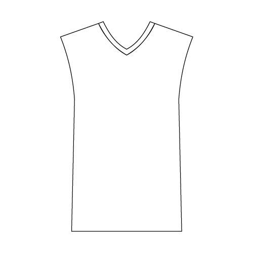 Youth Sleeveless V-Neck