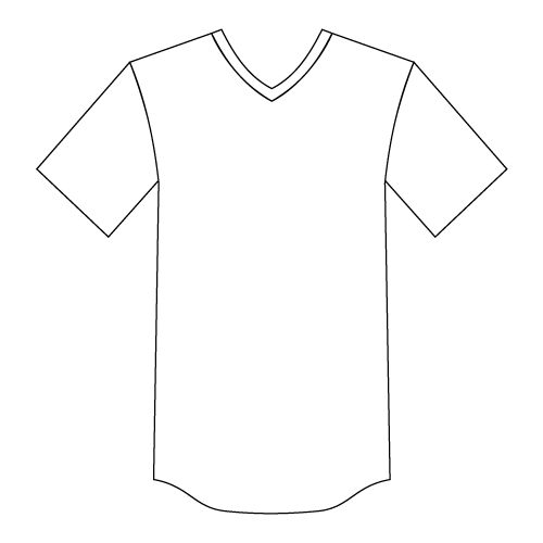 Youth V-Neck Baseball