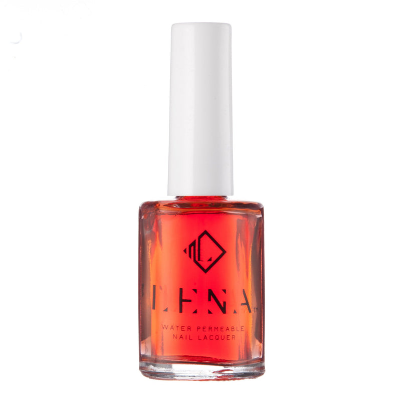 LENA Breathable Halal Nail Polish All Fired Up Enhancer Top Coat LE48