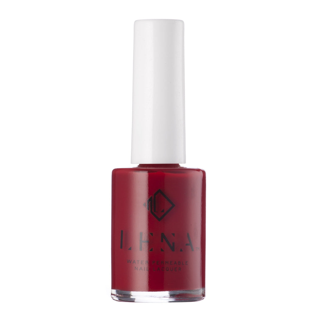 LENA - Matte Breathable Nail Polish - Red-Soled Stilettos - LE72