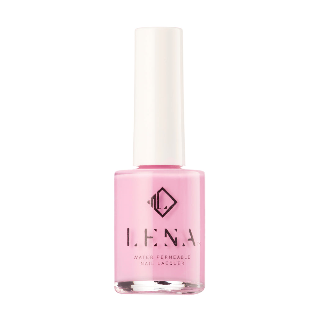 Breathable Halal Nail Polish - Kashmiri Pink - LE118 by LENA