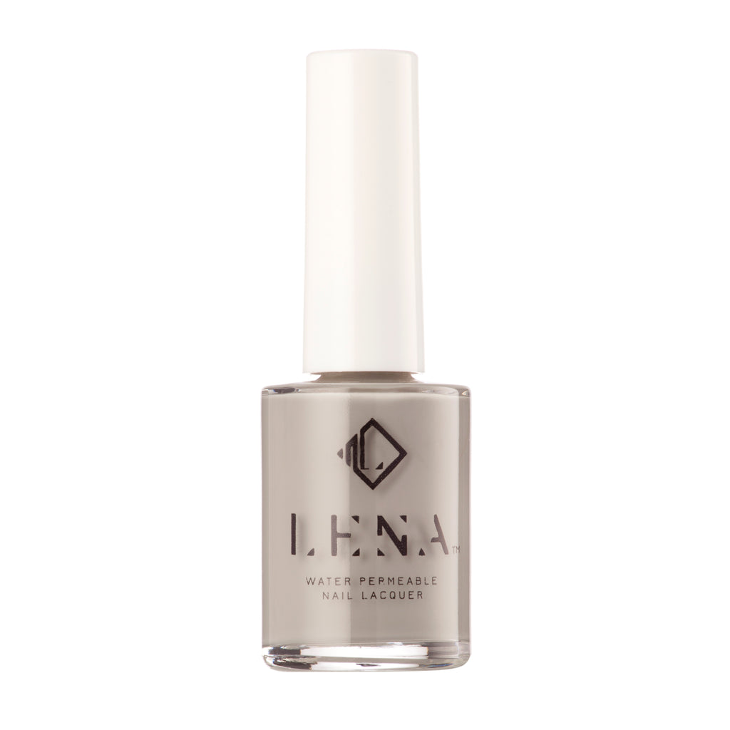 Breathable Halal Nail Polish - Gray_ceful Girl - LE130 by LENA