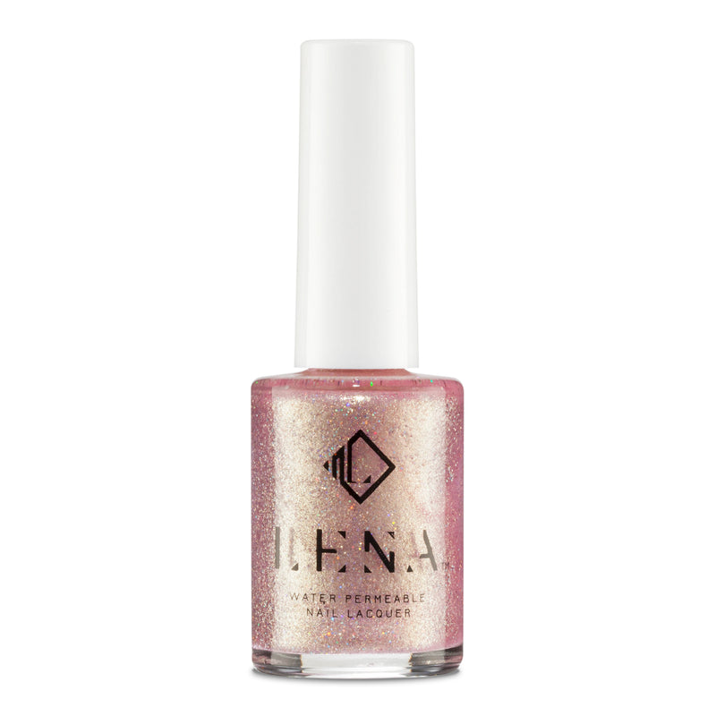Breathable Halal Holographic Nail Polish - Holographic Hun - LE251 by LENA